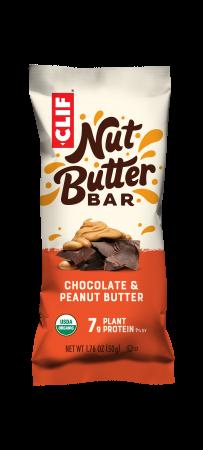 New Clif Nut Butter Choc Peanut Butter bar