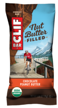 CLIF BAR NUT BUTTER FILLED FLAVOURS (Box of 12 x 50g Bars)