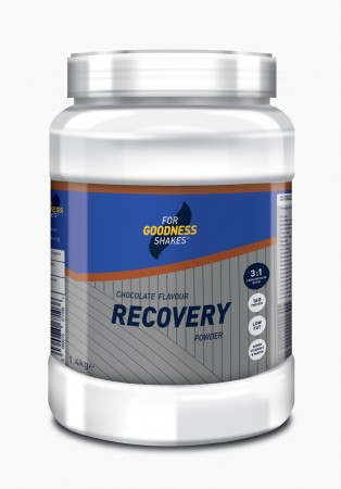 FOR GOODNESS SHAKES RECOVERY PROTEIN POWDER TUBS 1.44KG