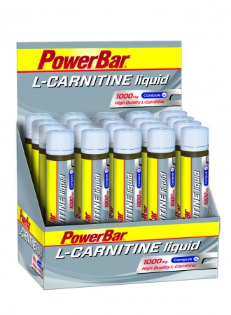 POWERBAR L-CARNITINE LIQUID 20 X AMPOULES