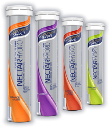 Nectar Hydro Tabs - Box of 10 tubes x 20 Tabs
