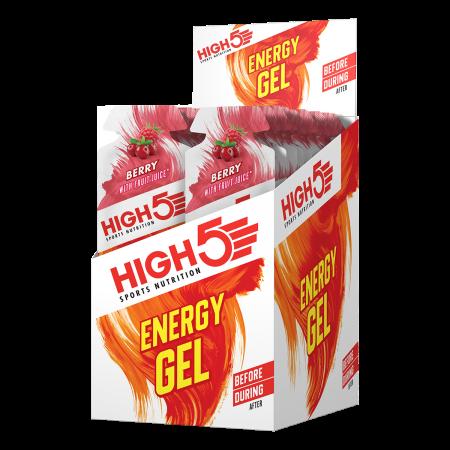 High5 Energy Gel Berry Box