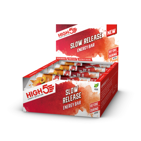 High5 Slow release energy bar box