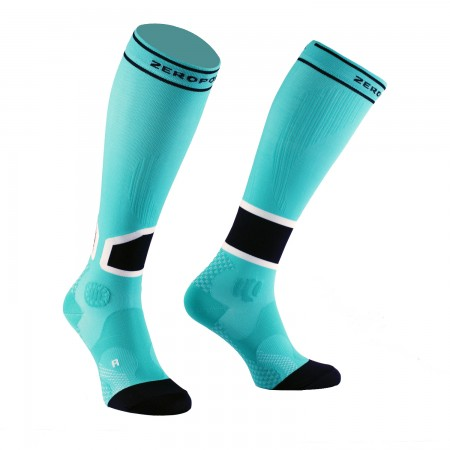 INTENSE 2.0 COMPRESSION SOCK AQUA