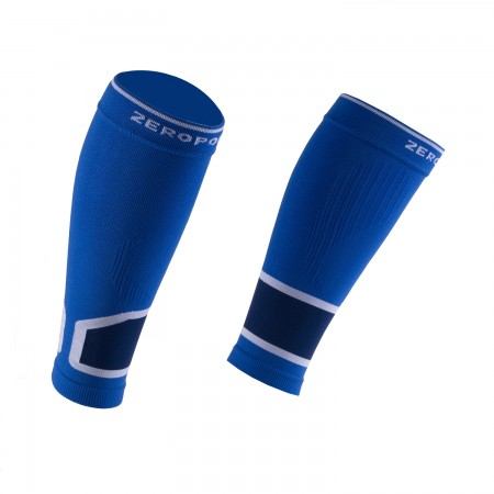 INTENSE 2.0 CALF SLEEVES BLUE AND WHITE