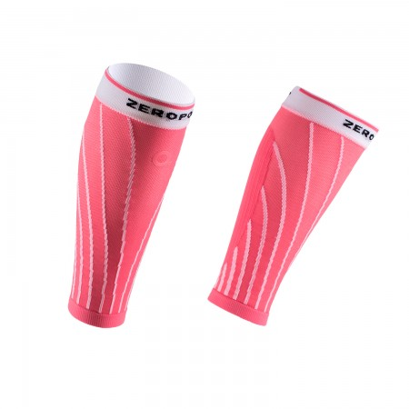 PRO RACING CALF SLEEVES PINK SODA AND WHITE