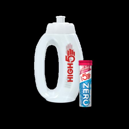 High5 Run bottle and 1 x 10 Tab ZERO Electrolyte