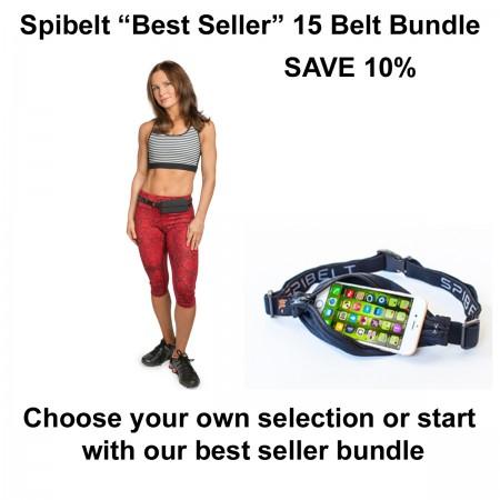 """SPIBELT """"BEST SELLER"""" 15 BELT BUNDLE - SAVE 10%"""