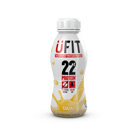 UFIT PROTEIN DRINK - Case 8 x 310ml bottles - Ready to drink Banana Flavour