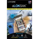LOKSAK WATER PROOF INNER BAGS - LOKSAK PACK OF 2 NEW DOUBLE ZIPPER DESIGN 3 x 6