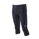 NEW! ZEROPOINT ATHLETIC 3/4 LENGTH TIGHTS FOR WOMEN - SS18 - BLACK - SAVE 10%