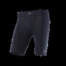 Mens compression shorts Black Titanium front