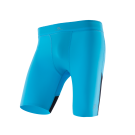 ZEROPOINT ATHLETIC COMPRESSION SHORTS MENS NORDIC BLUE AND BLACK