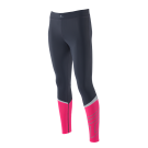 Zeropoint Athletic Tights Titanium Ivory Pink Candy left