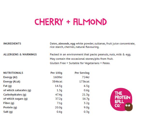 Cherry + Almond