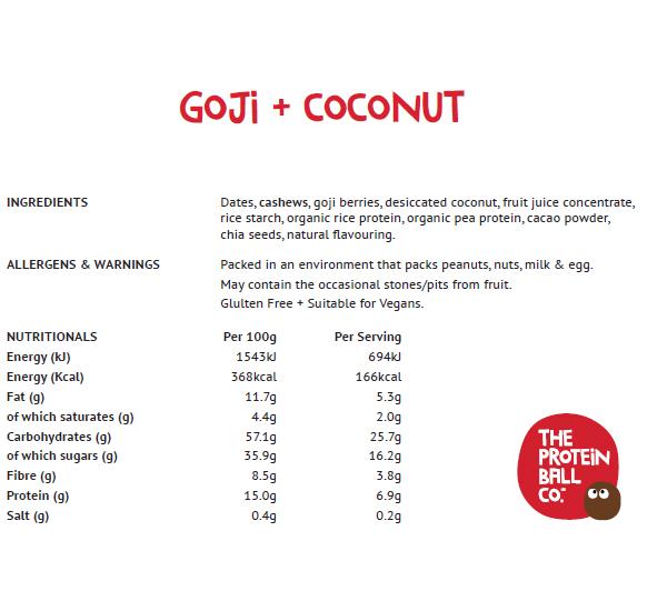 Goji + Coconut